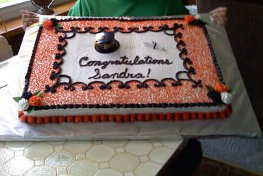 LPHS Graduation Cake by ClosetPoet111390