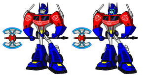 Optimus Magnus Reference by AleximusPrime