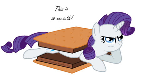 Have s'more Rarity by AleximusPrime