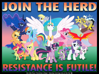'Join the Herd' poster by AleximusPrime