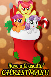 Have a Crusadin' Christmas! by AleximusPrime