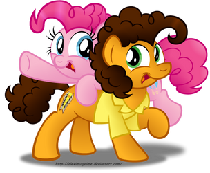 A Pair of Super Duper Party Ponies by AleximusPrime