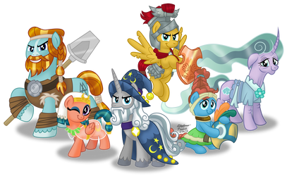 The Pillars of Equestria by AleximusPrime