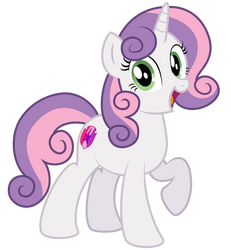Sweetie Belle 10 years later by AleximusPrime