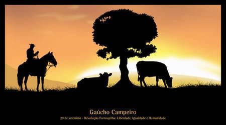 Gaucho Campeiro by paulodev