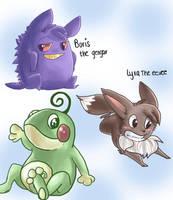 Pokemanssss by Dawr