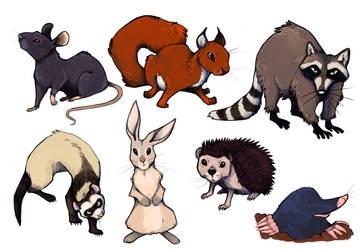 Animals 02 by Jane-Pr