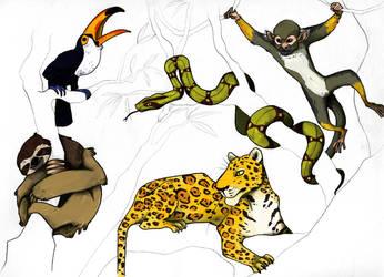 Animals 03 by Jane-Pr