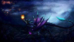 Light in the dark by Oksara