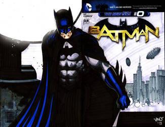 The Dark Knight by thepunisherone
