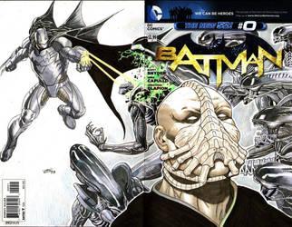 Batman_Bane_Alien by thepunisherone