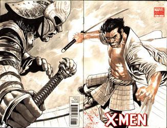 Samurai Wolverine- in progress by thepunisherone