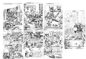 Marvel Heroes by thepunisherone