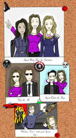 Marvel Agents of S.H.I.E.L.D Family Photo's by AvengerBlackwidow
