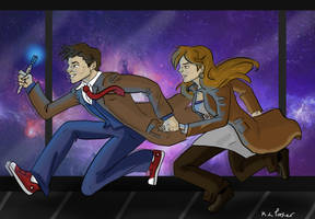 The Doctor Donna by AvengerBlackwidow