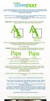 SIgnature text tutorial by Jpapa