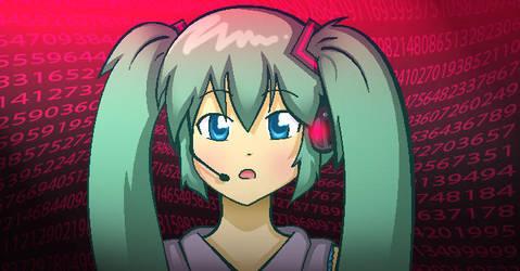::Hatsune Miku:: by Kumiko15