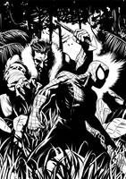 Spider vs Kraven by Botonet