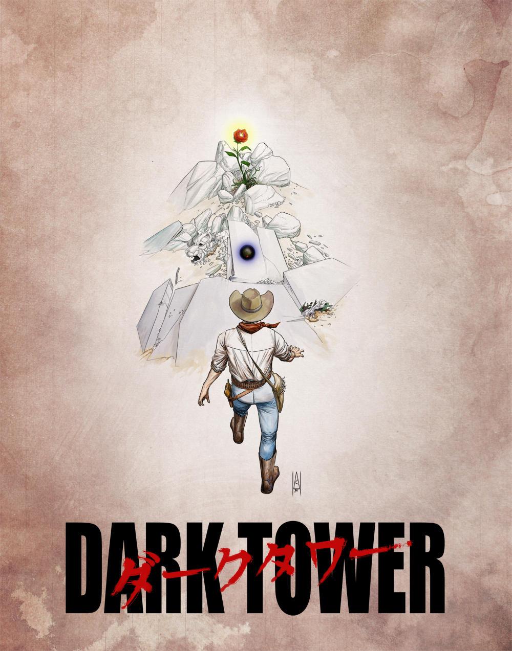 Dark Tower (ft. Akira) colored by Botonet