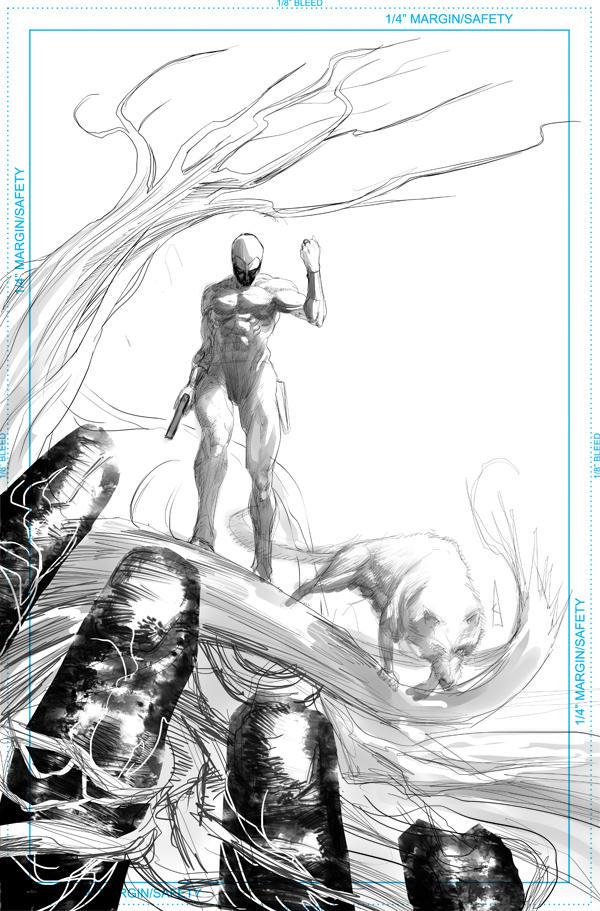 Phantom and Devil - sketch by Botonet