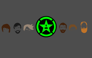 Wallpaper- Achievement Hunter by SomeElixer