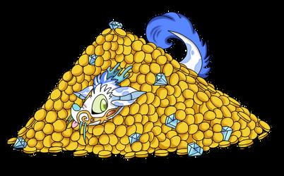 [fr] pile of money by NijiMarii