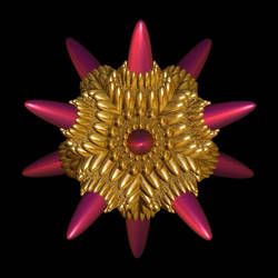 Golden Plasma Mine by hypnogoddess