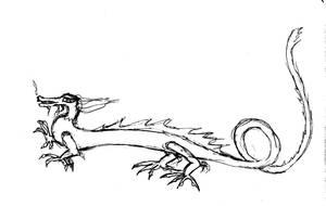 Chineese dragon by tadrala