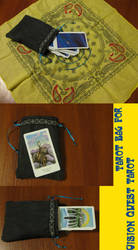 Vision Quest Tarot Bag by tadrala
