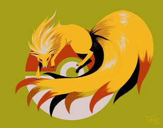 Ninetails by streaac