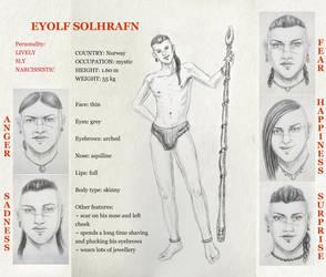 Eyolf: Profile by HelevornArt