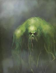 Swamp-Thing by M-Atiyeh