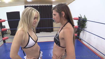 Becca vs. Sasha 01 by KnockoutCats