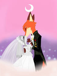 Moonlight Wedding by Skelly-Doll