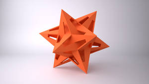 Dodecahedron Interlocking Star by usere35