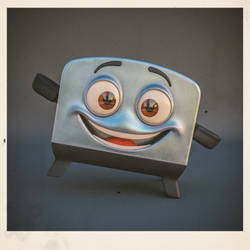 The Brave Little Toaster - Toaster by Zsibo