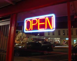 Open Late by pecaspers