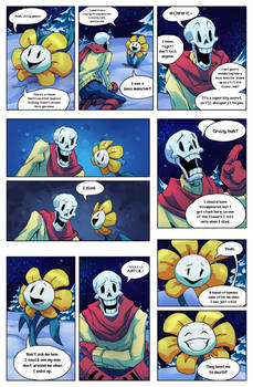 Flowey Is Not a Good Life Coach - Chap. 1, page 3 by fluffySlipper