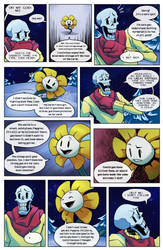 Flowey Is Not a Good Life Coach - Chap. 1, page 4 by fluffySlipper