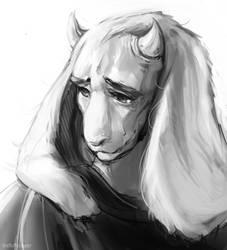 Toriel by fluffySlipper