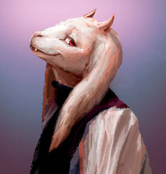 Goat m o m by fluffySlipper