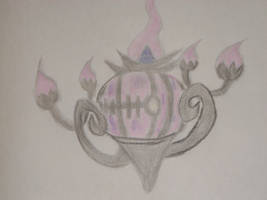 Chandelure(color) by metalwolf77777
