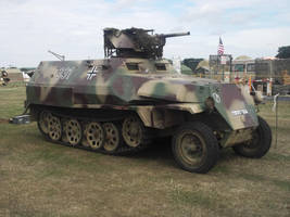 German WW2 Half track at the Combined ops by FFDP-Neko