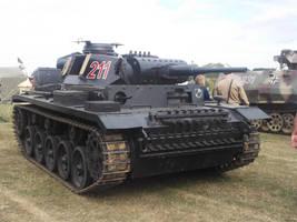 Panzer III tank by FFDP-Neko