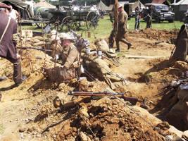 WW1 trench at Paddock wood by FFDP-Neko