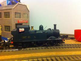 GWR 1427 on the line by FFDP-Neko