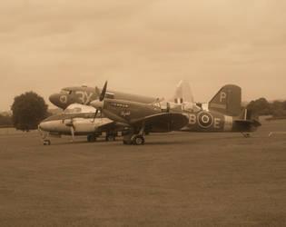 Lined Up Aircraft by FFDP-Neko