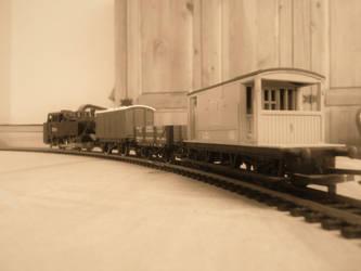 A Small Goods Train by FFDP-Neko
