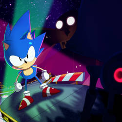 Sonic Mania vs Metal Madness by PotterzillaSeries