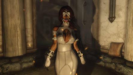White dress by btzozo